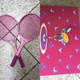 Jogo de raquete+ quadro magnético