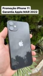 Título do anúncio: iPhone 11 Black 64gb Garantia Apple