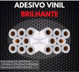 Título do anúncio: Rolo Adesivo Branco Brilho