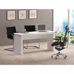 Título do anúncio: Mesa escritório branca usada perfeito estado
