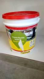 Título do anúncio: Manta liquida impermeabilizante 18 kg Quartzolit cor Branca