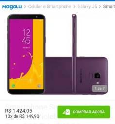 Título do anúncio: J6 Samsung destrava tbm na digital