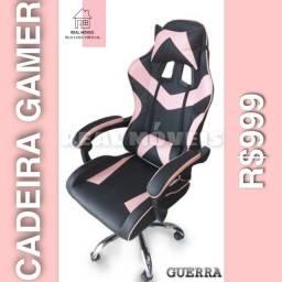 Cadeira gamer rosa 999 s d f g. H h