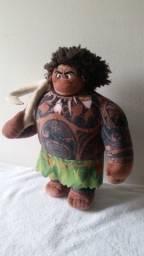 Boneco pelucia Maiu e galo hei hei da moana -Ver descrição