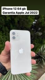 Título do anúncio: iPhone 12 WHITE 64gb c/ garantia