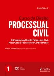 Livro/coleção de Direito Processual Civil (Fredie Didier Jr.) - novo
