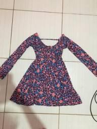 Vestido florido tamanho P