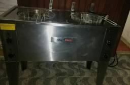 Fritadeira 220v multifritas duas cubas