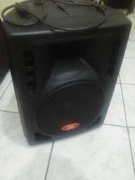 Caixa Ativa Donner 150 watts troco Leia