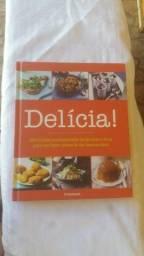 Livro receitas delicias