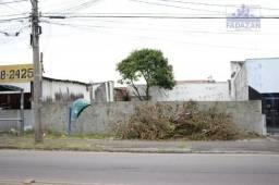 Terreno para alugar, 264 m² por r$ 2.000,00/mês - capão da imbuia - curitiba/pr