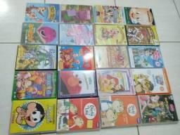 20 Dvds infantis