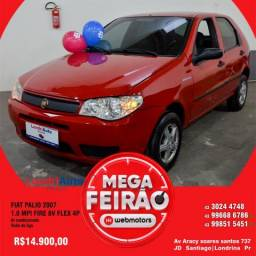 FIAT PALIO 2007/2007 1.0 MPI FIRE 8V FLEX 4P MANUAL - 2007