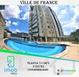 Alugo Ville de France, 3 suítes (100% mobiliado)