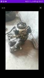 Carburador e colhetor