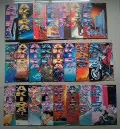 Coleção Akira - Primeira Edição - nº 1 ao 33