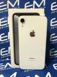 Apple IPhone XR 64Gb Branco - Seminovo - com nota e garantia, somos loja fisica