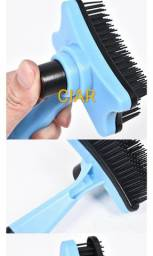Escova pet depilação, banho macia gato cães prático