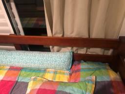 Cama madeira - bicama Pouquíssimo uso + 2 colchões