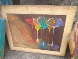Vendo lindo quadros pintados a mão