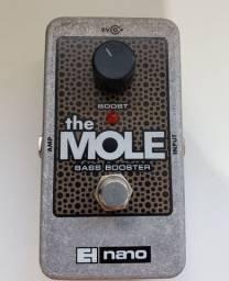 Pedal Bass Booster para Baixo Electro-Harmonix