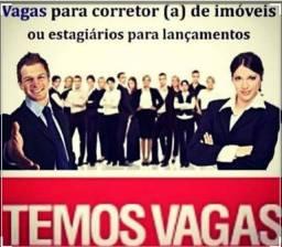 Corretores para Lançamento vagas em Minas e São Paulo