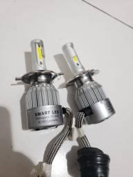 Lampada Bi-Led H4 8k Lumens (alta e baixa)