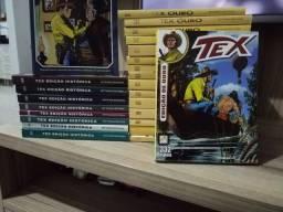 Kit Tex Ouro e Tex Edicão Histórica