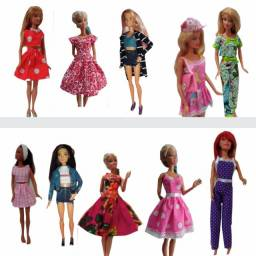 Barbie - Móveis, Roupinhas e Acessórios