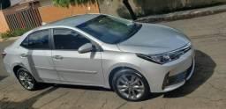 Corolla Xei Prata 2019 Carro Muito Novo e sem Detalhes