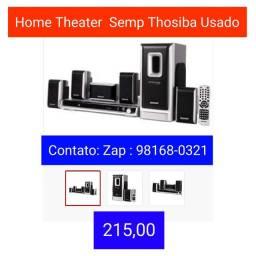 Home Theater Semp Thoshiba Usado