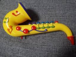 Saxofone Infantil Semi-Novo