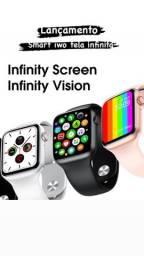 Smart Watch iwo 12 tela infinita