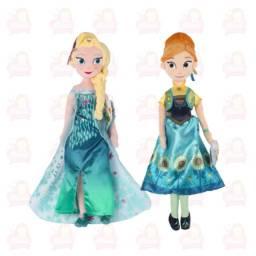 Título do anúncio: Ana e Elsa 50 cm de pelúcia febre congelante