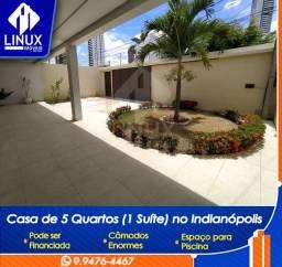 Casa com 5 quartos, Suíte com Closet e Móveis projetados em Caruaru/PE