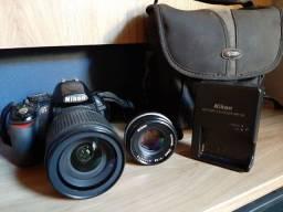 Câmera Profissional Nikon D3100 + Lente + Bolsa * Oportunidade *