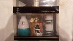 Conjunto Sake Hakushika (Para Decoração)