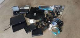 Aparelhos, peças e cabos diversos