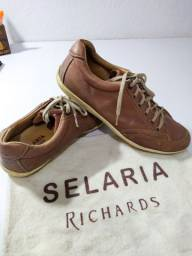 Sapatênis/Sapato Masculino Selaria Richards em Couro N°43