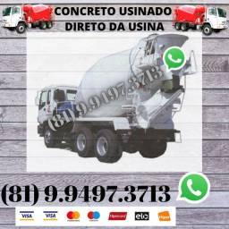 Concreto Usinado Direto da Usina Aceitamos Cartão 6930111