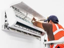Título do anúncio: Instalação Ar condicionado Manutenção Ar condicionado