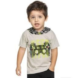 Camiseta Game Infantil Elian 04 Anos Nova com Etiqueta 50,00 (Menor Preço)