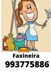 Título do anúncio: Faxineira