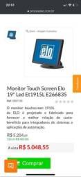 Tela touch, ideal para lançamento de pedidos rápidos , restaurante e lojas