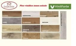 Título do anúncio: Piso Vinilico colado 2mm VinilFort