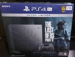 Título do anúncio: Playstation 4 pro edição the last of us part 2