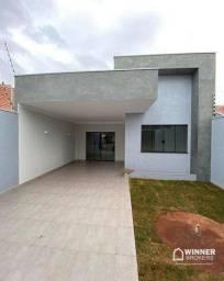Casa com 2 dormitórios à venda, 103 m² por R$ 330.000,00 - Jardim São Miguel - Maringá/PR