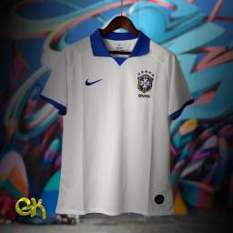 Camisa Polo Nike Seleção Brasileira (M)