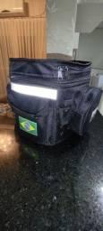 Título do anúncio: Bagageiro baú mochila para moto