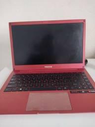 Notebook Positivo Motion Plus Red Q464B (com defeito na tela)